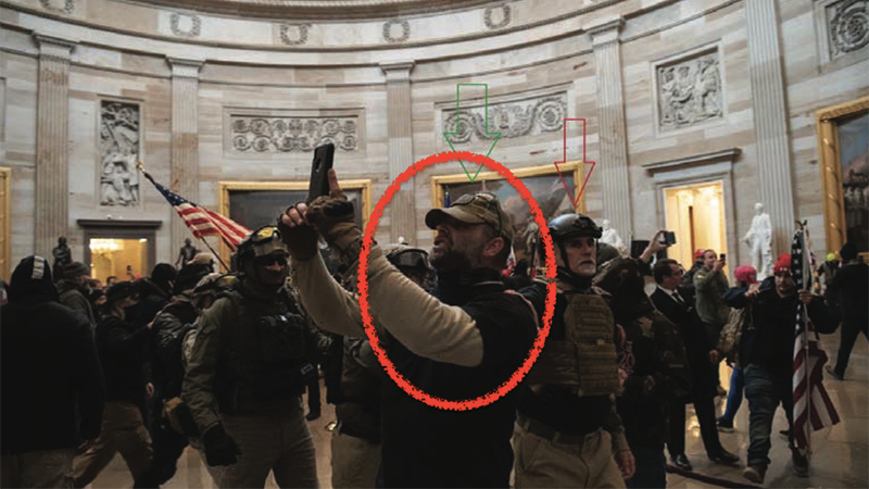 Capitol rioter's bid to get out of jail thwarted by his own medical records
