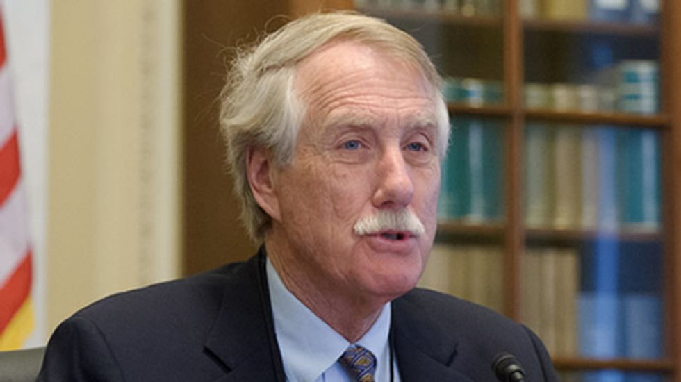 Sen. King: Those who oppose the Affordable Care Act 'are guilty of murder'
