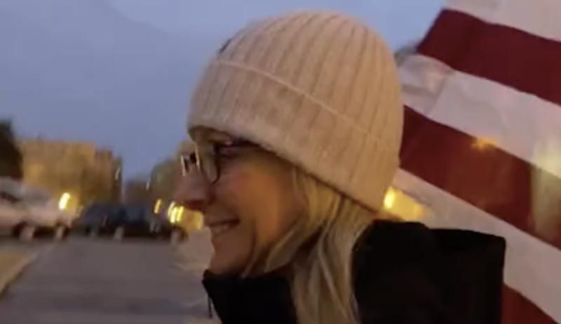 Southern California community plunged into turmoil after popular teacher filmed at Capitol riot