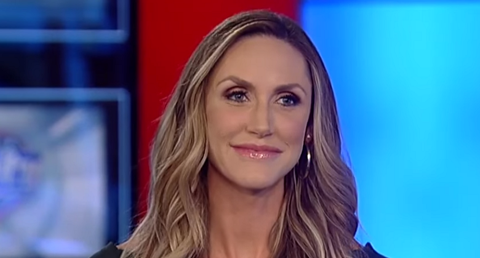 Lara Trump says it's 'refreshing' to not see Donald Trump 'vilifying' troops