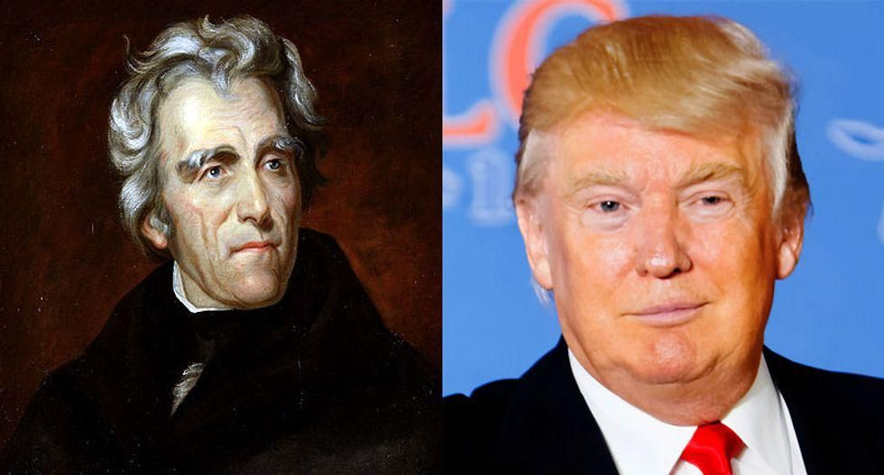 Is Trump like Andrew Jackson? Yeah — in all the bad ways, and none of the good ones