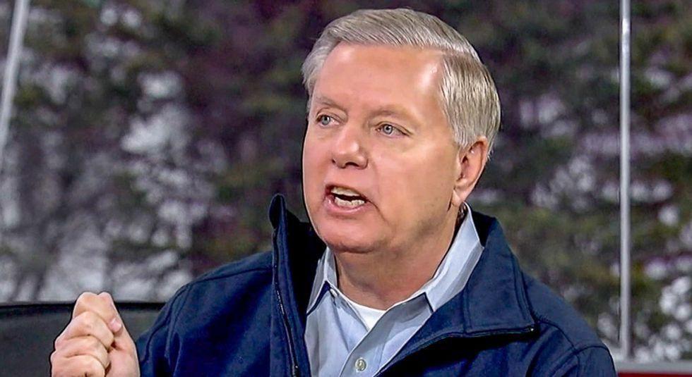'Senator Freeloader': Stephanie Grisham busts Lindsey Graham for mooching at Mar-a-Lago