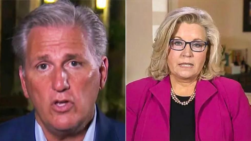 'I'm honored': Liz Cheney throws Jan. 6 committee assignment in Kevin McCarthy's face