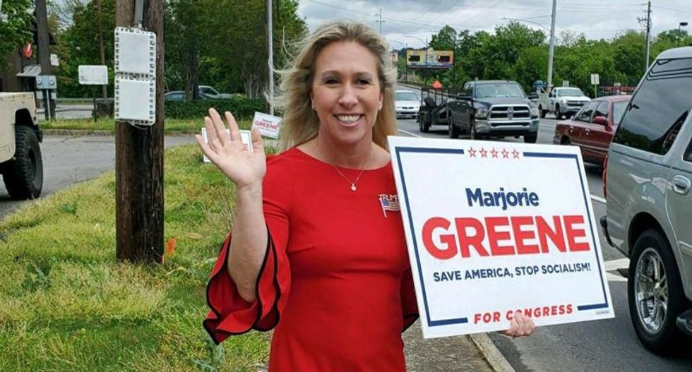 Marjorie Taylor Greene quickly deletes obscene Twitter attack on 'feckless' Kevin McCarthy