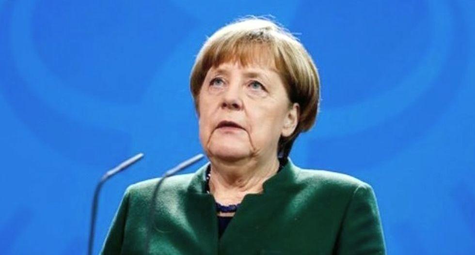 Germany's Merkel makes final push for successor in knife-edge poll