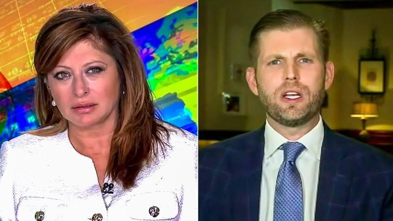 Maria Bartiromo interviews Eric Trump about Nicki Minaj's 'swollen testicles' claim