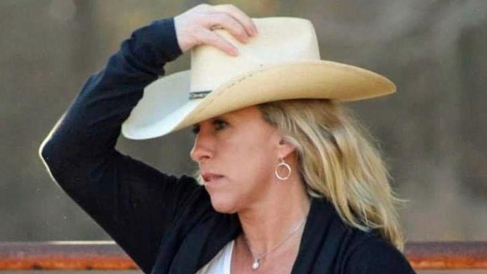 BUSTED: Marjorie Taylor Greene caught illegally claiming a 'big tax break' in Georgia