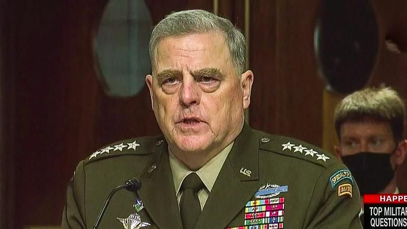 Gen. Milley: Trump issued order to withdraw from Afghanistan by Jan. 15 after he lost election