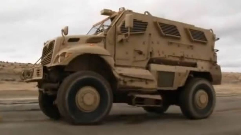 Dallas County Police to execute warrants in 15-ton-vehicle capable of withstanding 'nuclear environment'