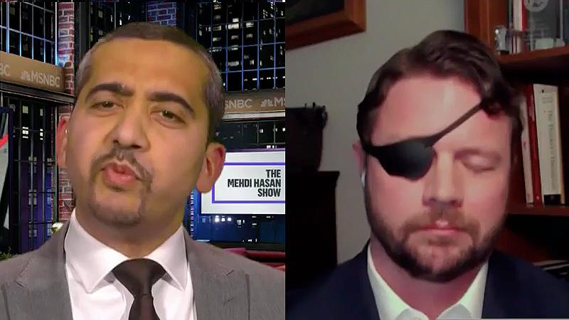 Republican Dan Crenshaw goes down in flames during debate with MSNBC's Mehdi Hasan