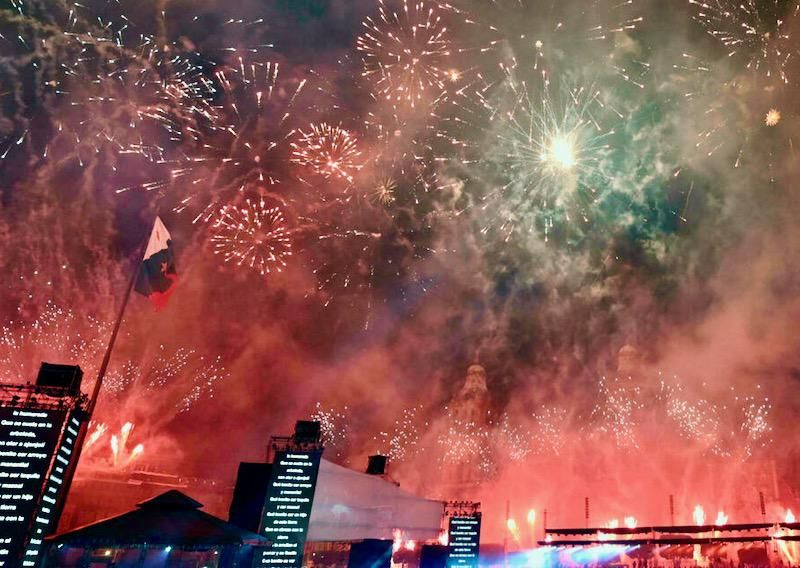 Mexico celebrates 200 years of independence