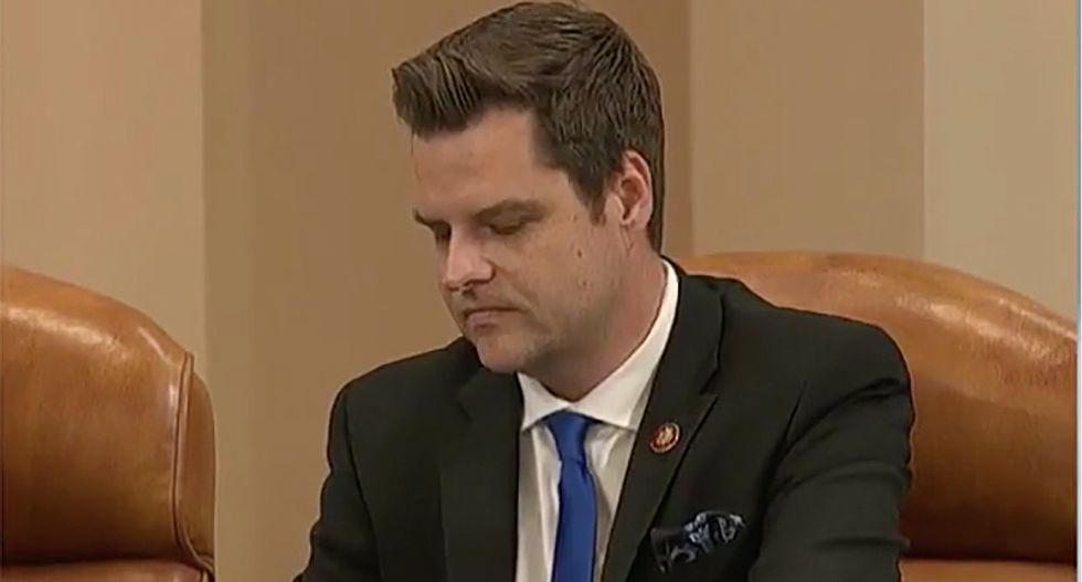 'I prefer really not to comment': GOP lawmakers ducking questions about 'sleazeball' Matt Gaetz's future