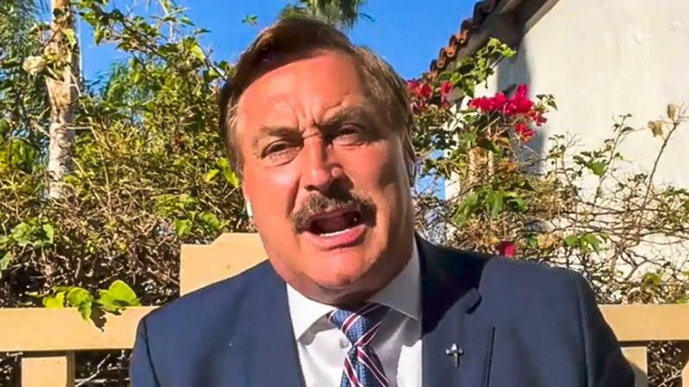On eve of 'Trump reinstatement,' Mike Lindell says he knows he's going to win because of God