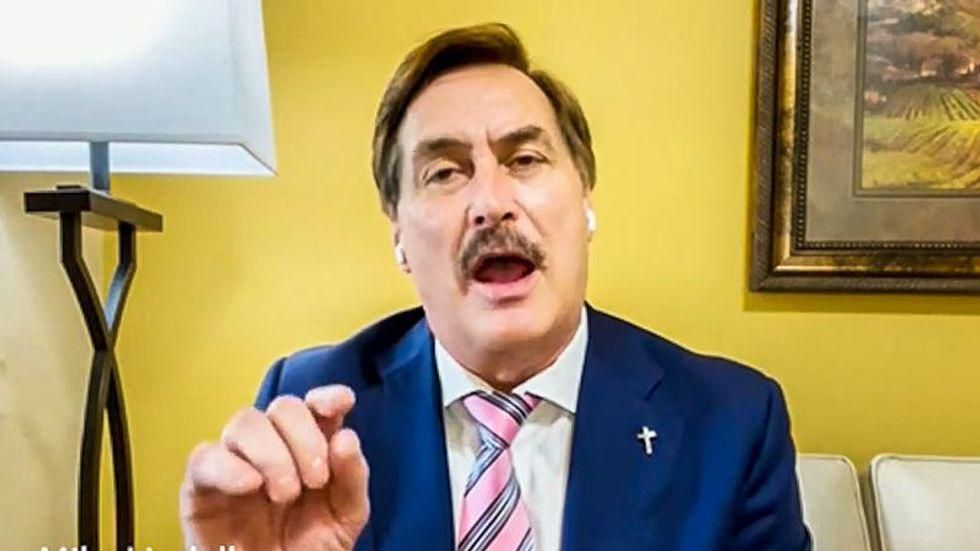 Mike Lindell says he's 'No. 1' on the Biden government's kill list