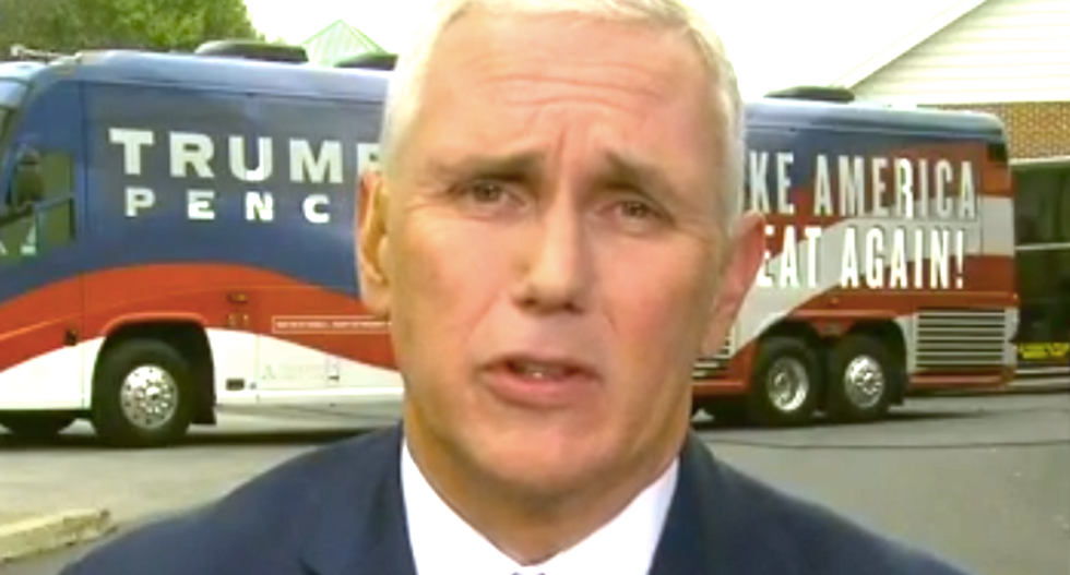 GOP colleagues avoid mentioning Trump during meetings with Mike Pence: Woodward book