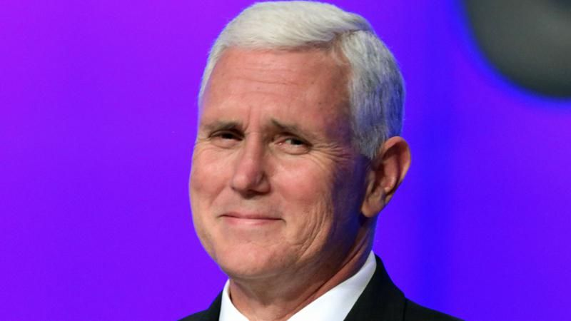 Mike Pence posts farewell photos in good-bye message — but excludes any of Donald Trump
