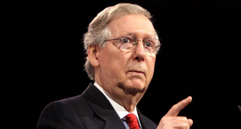 Mitch McConnell refuses to commit to confirming a Biden Supreme Court nominee if GOP takes back the Senate