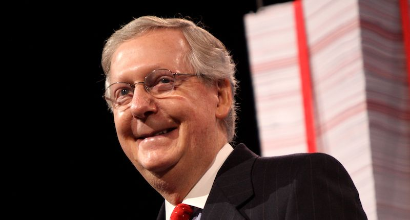 Here is one 'dangerous' way Mitch McConnell is abandoning his constituents in order to deny Biden a win