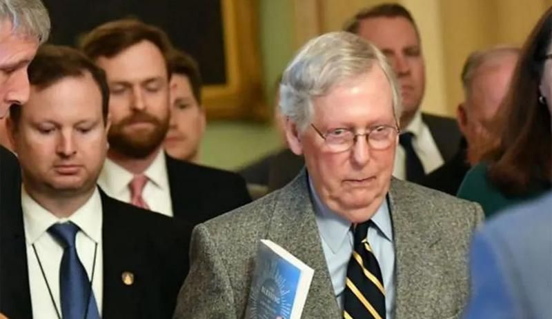 Republicans openly panicked Trump's war with McConnell will rip party apart: report