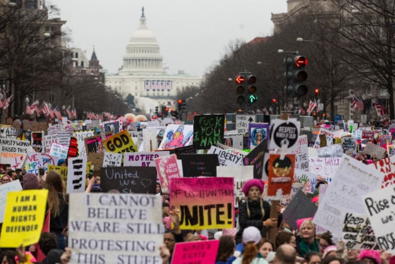 Battle for abortion rights hits America's streets Saturday