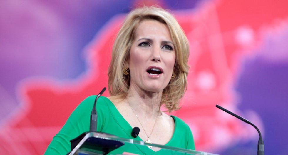 Laura Ingraham's views were shaped by 'abusive' father who kept a copy of 'Mein Kampf' in the living room – according to her brother