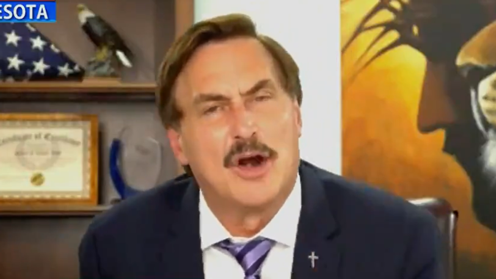 Mike Lindell uses his first ad back on Fox News to whine about being 'canceled'