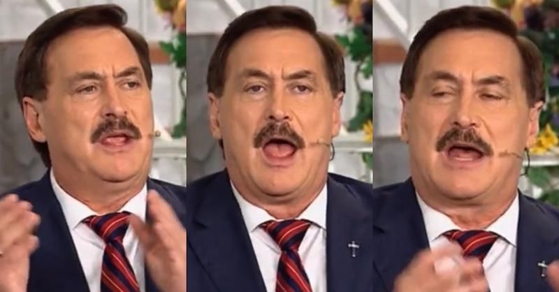 MyPillow CEO Mike Lindell launches paranoid rant: 'Had to get on my knees and pray to God'