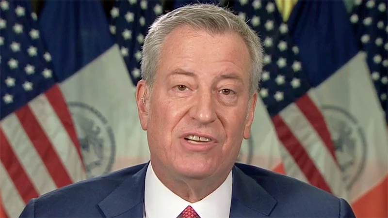 New York City is 'severing all contracts' with Trump for 'criminal activity' over insurrection: mayor