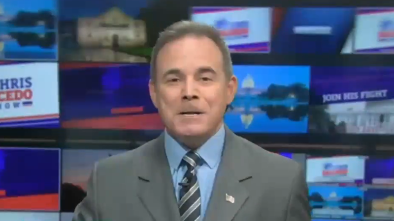 Newsmax host predicts states will 'rebel' against Biden as insurrectionist rhetoric continues