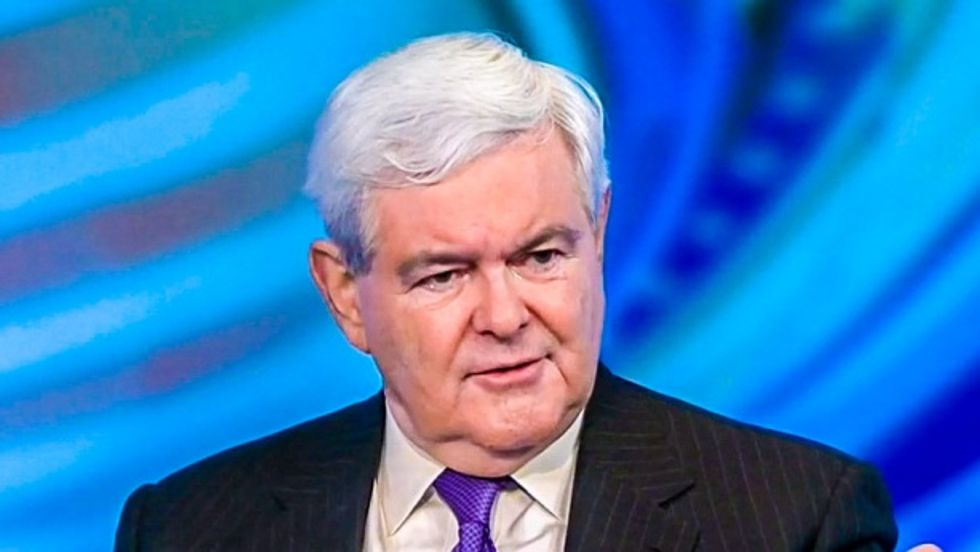 Newt Gingrich speaks to ABC News (screen grab)