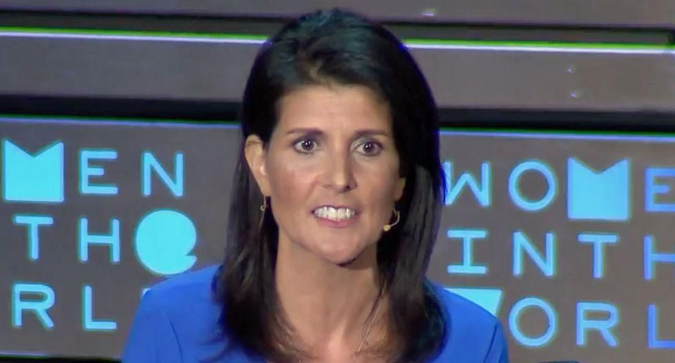 Nikki Haley's Memorial Day photo instantly backfires -- after it shows her at the beach and not honoring the troops