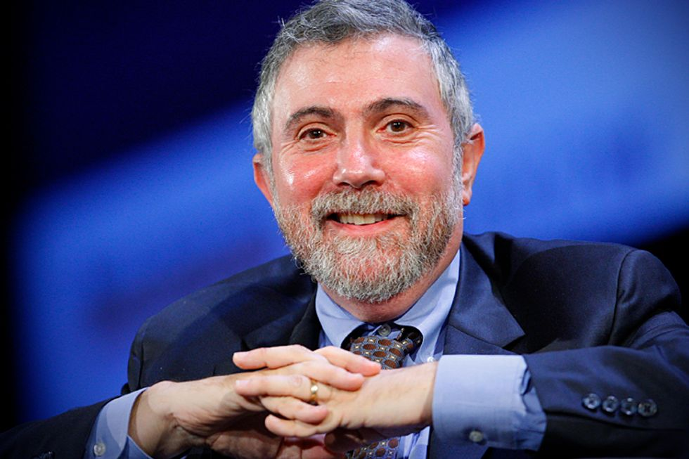 Paul Krugman offers 4 reasons to be cheerful at the end of 2014