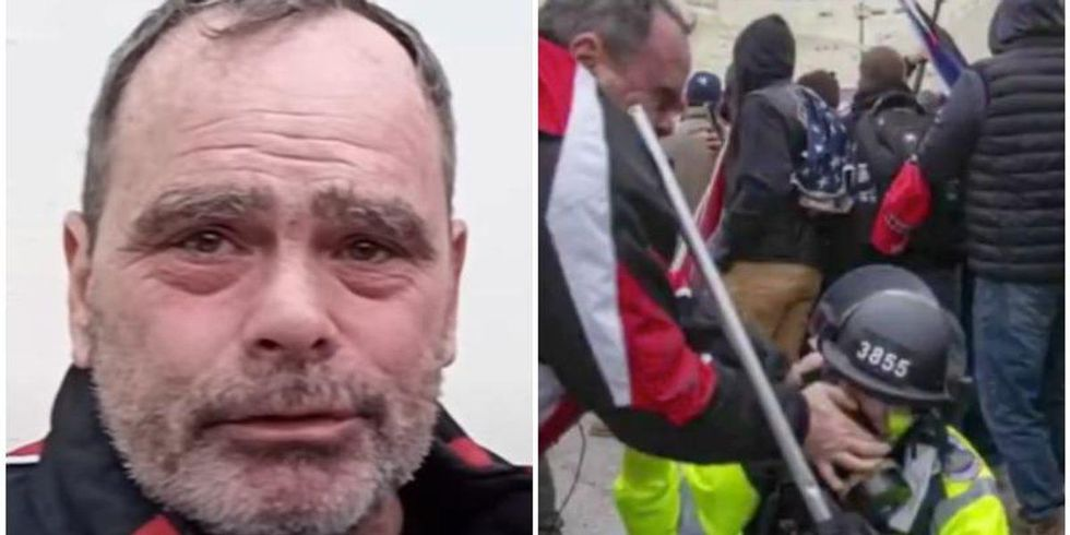 Lawyer for eye-gouging MAGA rioter whines that his client is in jail with people who did 'inner-city crimes'