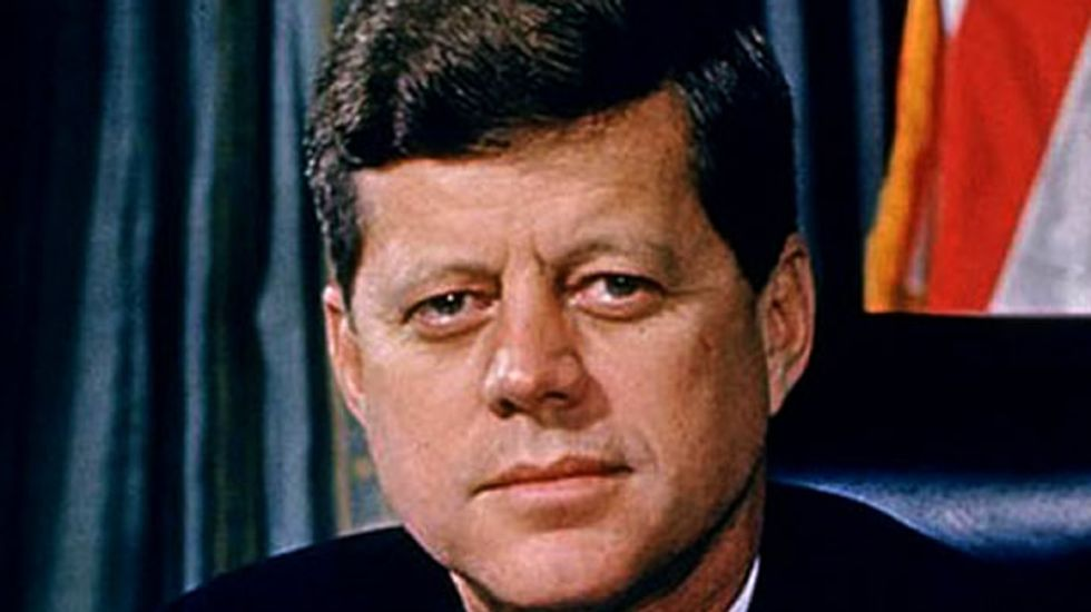 Author claims Robert Kennedy stole John F. Kennedy's brain from National Archives