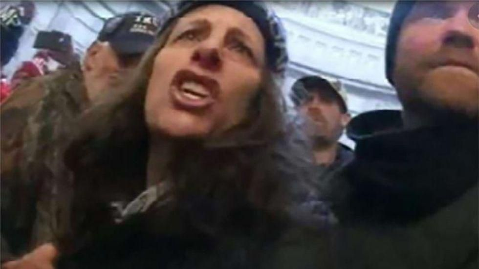 'I have a right to my self-determination!' MAGA rioter starts 'screaming' after judge sends her to jail