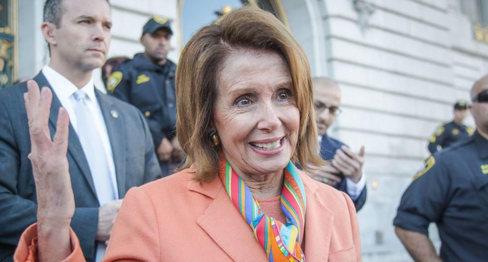 Pelosi rips the 'weaponization of law enforcement by the former president' after 'harrowing' spying report