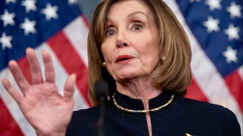 Pelosi announces select committee on Trump-incited Capitol riots