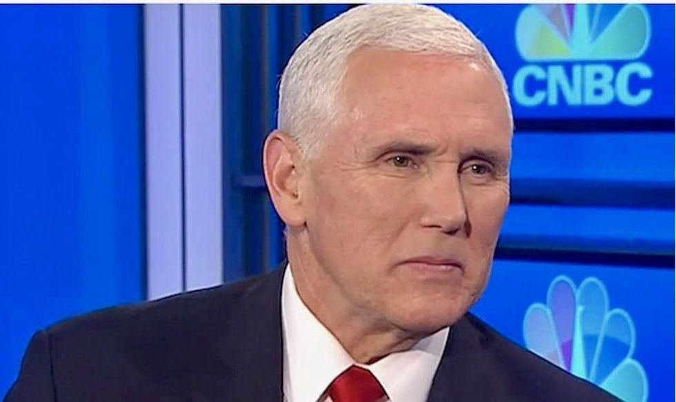 WATCH: Trump fanatics yell 'Traitor!' at Mike Pence during Faith and Freedom conference