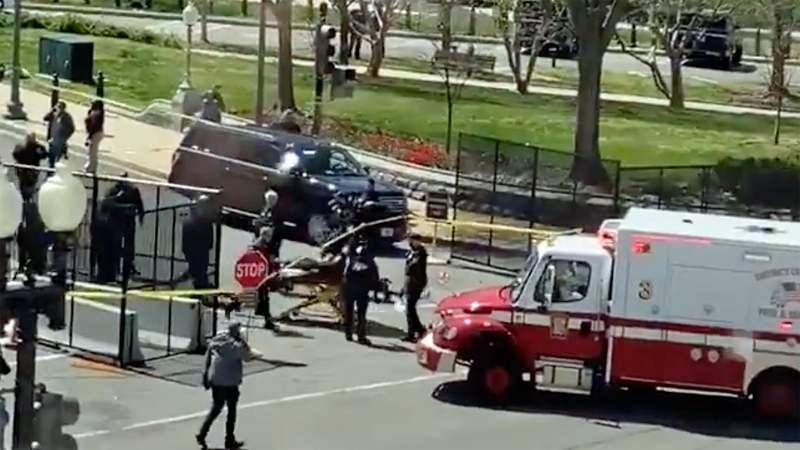 Capitol Policer officer killed in ramming attack on barricades: chief