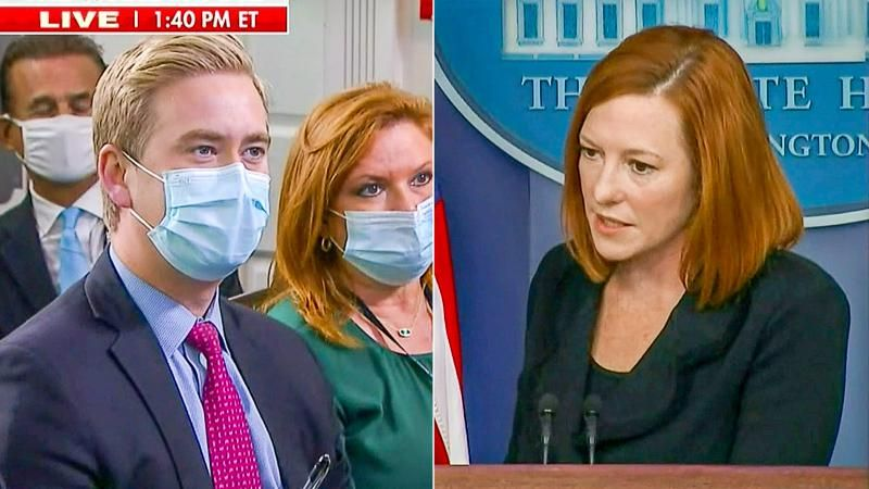 Jen Psaki schools Doocy on immigration: 'Let me explain to you again, Peter, how our process works'