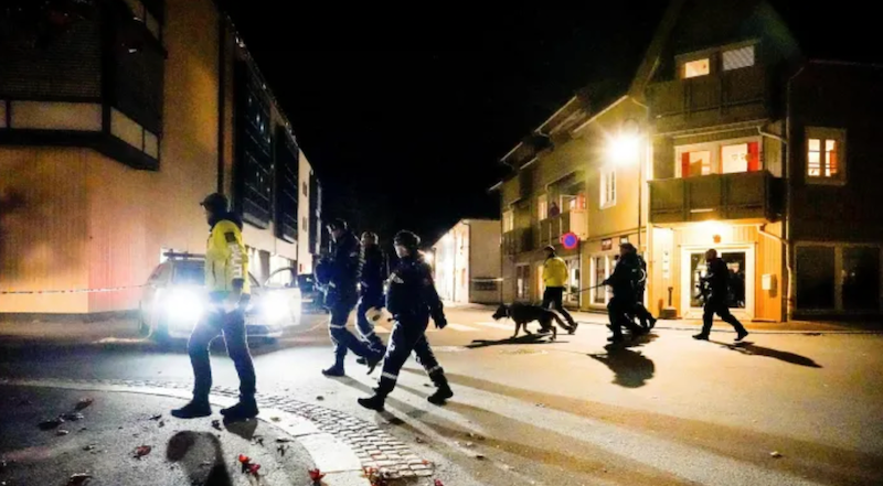 Suspect in Norway bow-and-arrow attack was flagged for radicalization