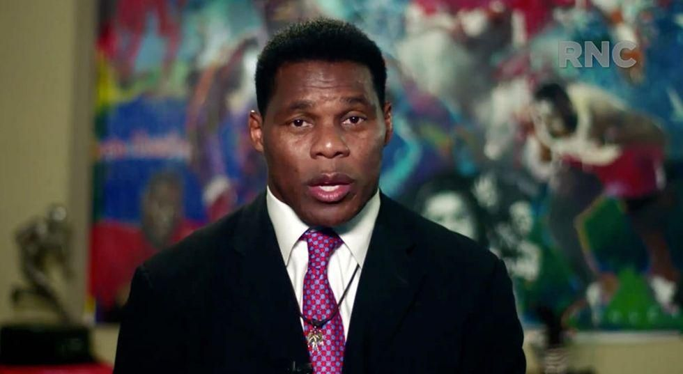 Trump-backed Herschel Walker cancels fundraiser with supporter over her 'very offensive' swastika Twitter avatar