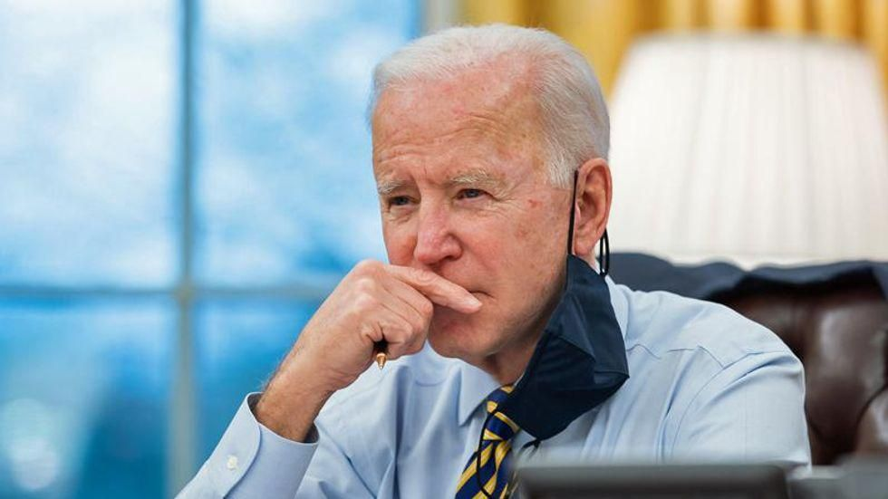 Progressives hold the line as 'Manchema' side with oligarchy against Biden agenda