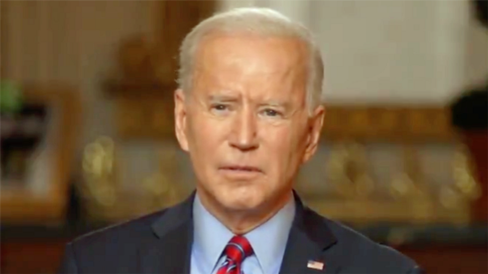 Biden is already breaking the pledge from his United Nations speech