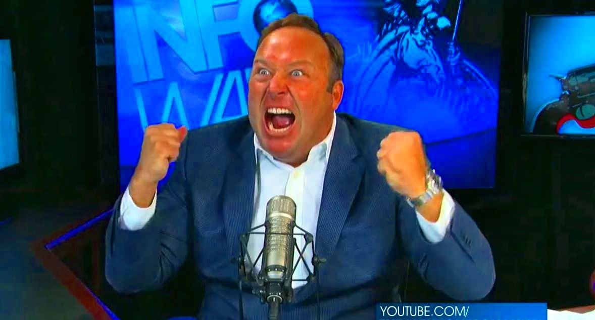 Conspiracy theorist Alex Jones admits funding abortions 'many years ago -- haven't done it since!'