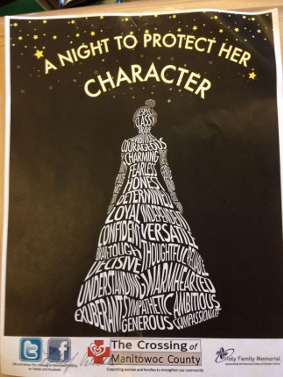 Prom poster from Lincoln High in Wisconsin (via Reddit)