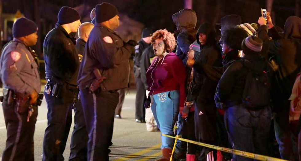 Protests flare up in St. Louis over latest police shooting of African-American man by police