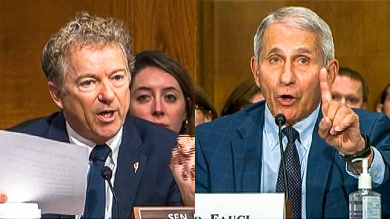 Dr. Fauci shouts down Rand Paul at COVID hearing: 'If anybody is lying here, Senator, it is you'