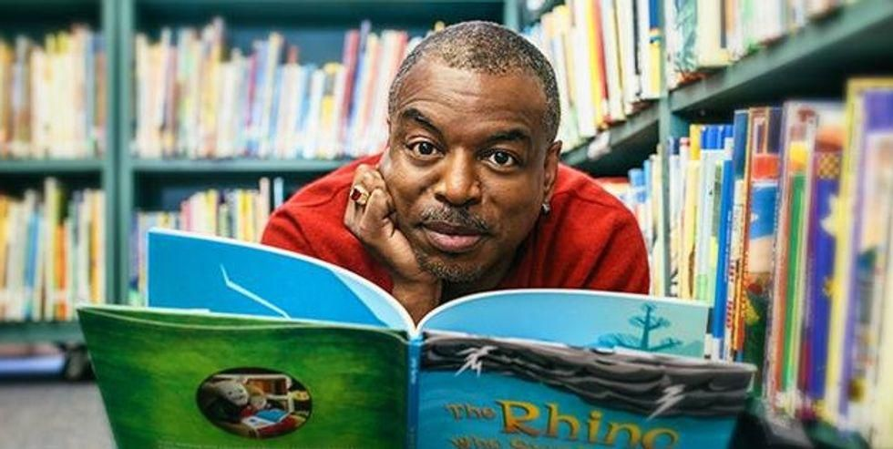 LeVar Burton could get his own game show — involving his love of books