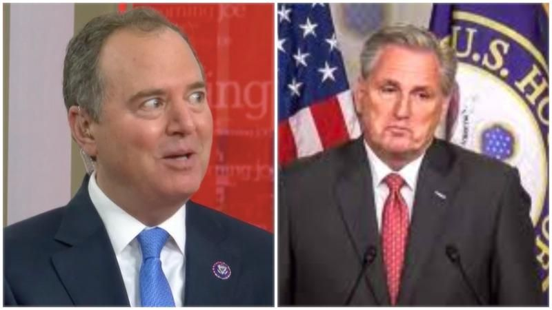 'Relentless attack on the truth': Adam Schiff says he caught Kevin McCarthy in a blatant lie